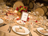 wedding reception table setting ideas