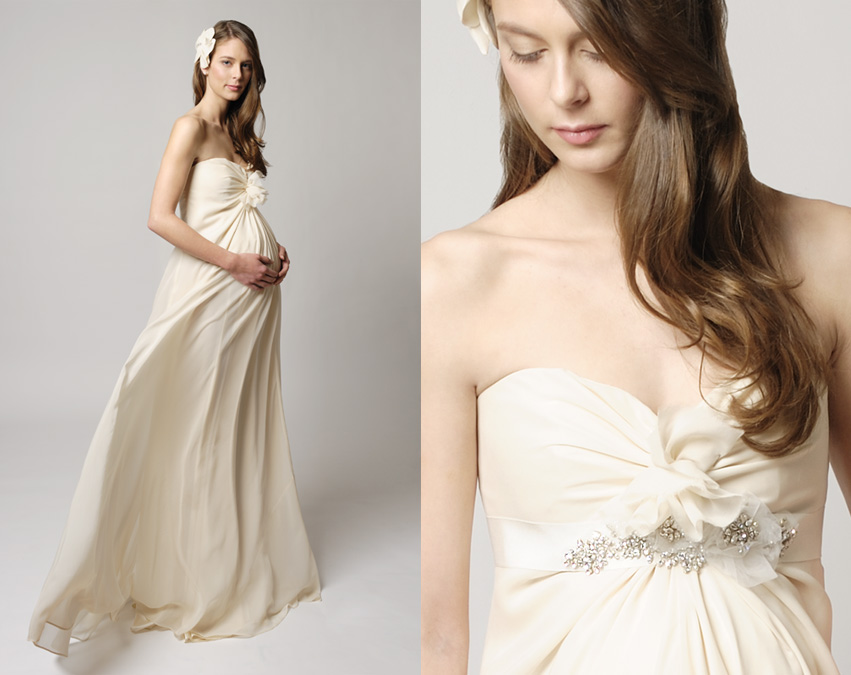 Style Tips for the Pregnant Bride