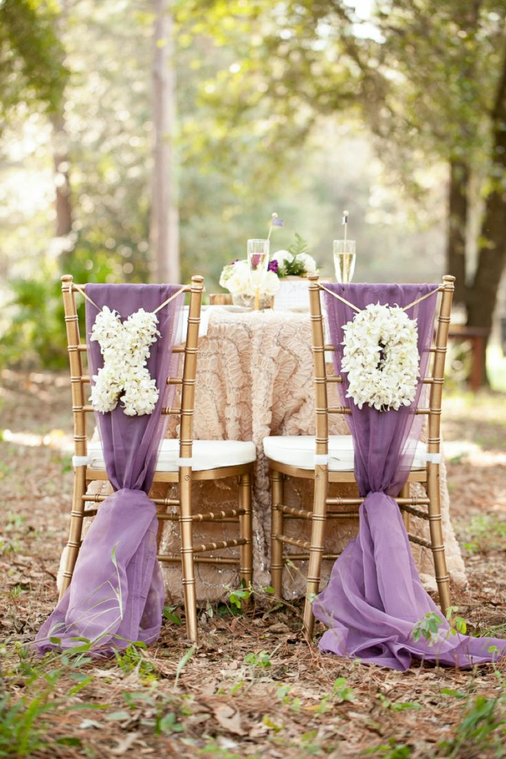 Wedding Decoration Ideas For Bride And Groom Reception Chairs
