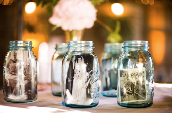 diy wedding ideas for centrepieces