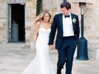 lauren conrad wedding classic celebrity bride style