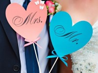 diy wedding decorations for bride and groom
