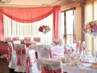 pink decoration wedding reception colour schemes