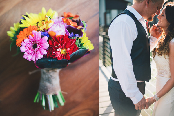 real wedding bouquet australia