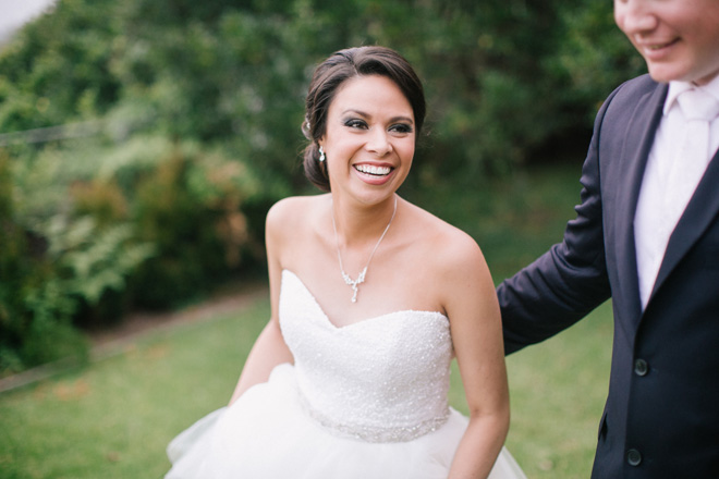 bride real wedding