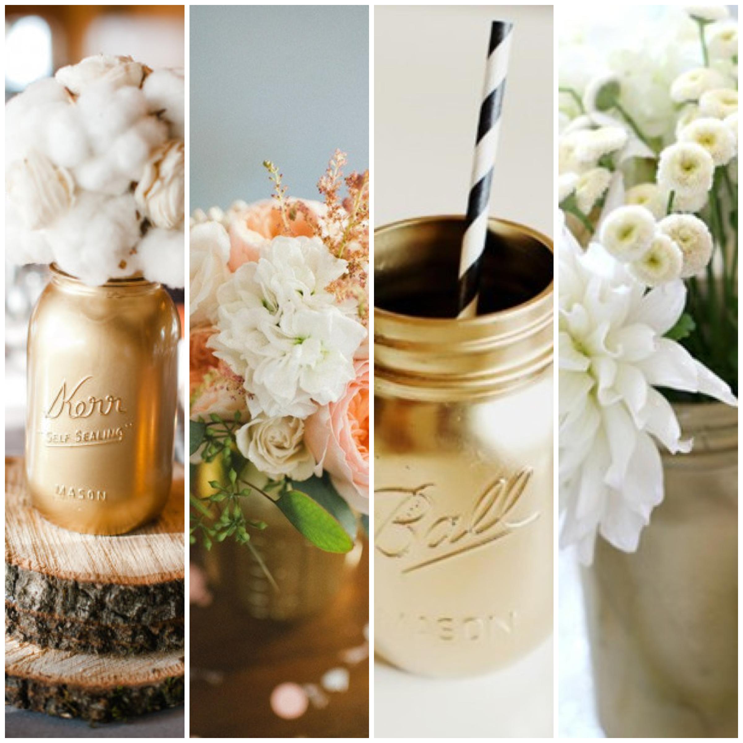 diy wedding decor mason jar