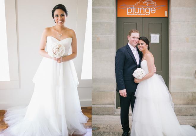 real wedding bride style
