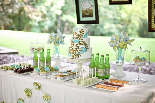 candy bar wedding