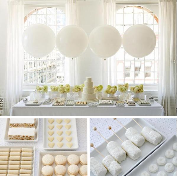 candy buffet wedding style