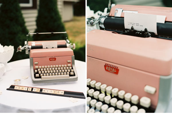 clever wedding guest book