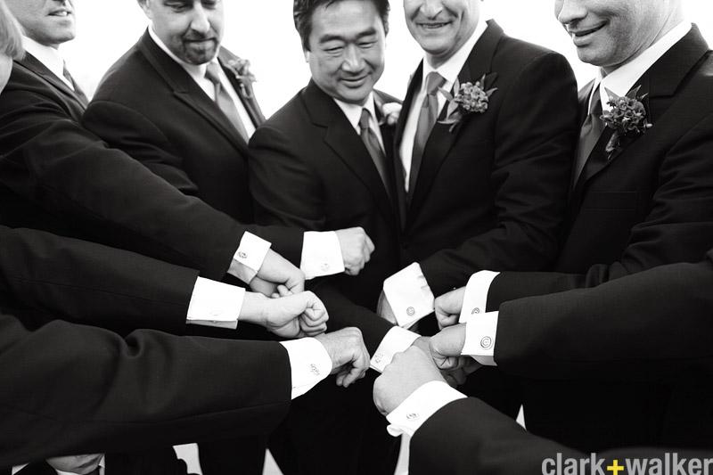 groomsmen gift idea cufflinks