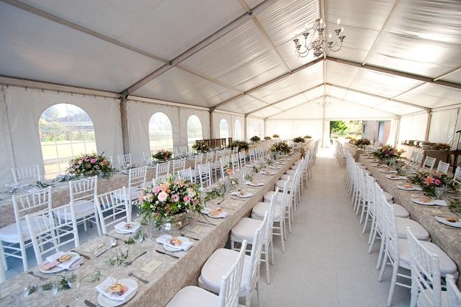 Wedding venue for outdoor reception