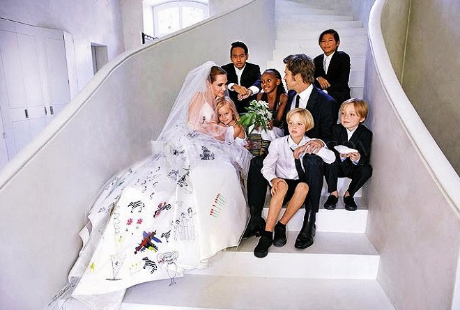 biggest celebrity wedding 2014 brad pitt angelina jolie