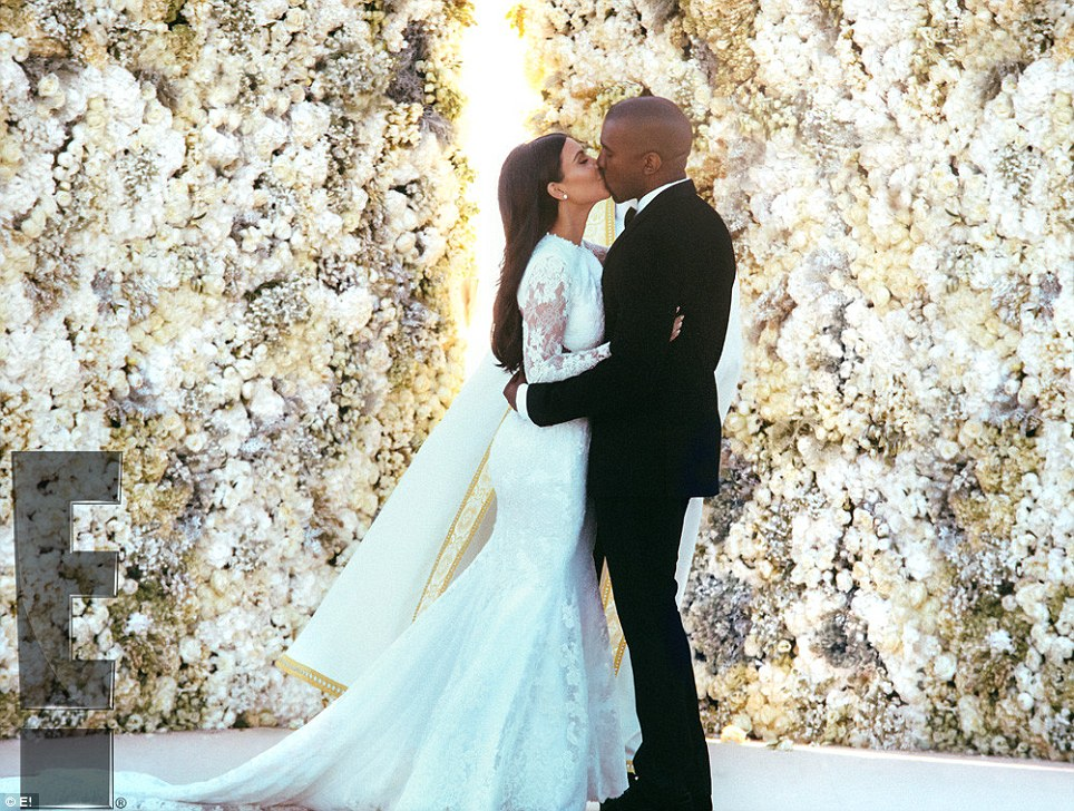 kim kardashian kanye west biggest celebrity wedding 2014