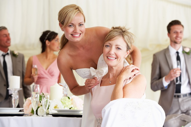 wedding planning help from mother of bride