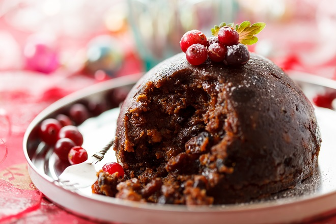 how to have christmas pudding as part of eating plan