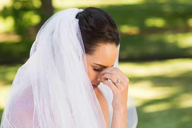 wedding insurance to ease worried bride