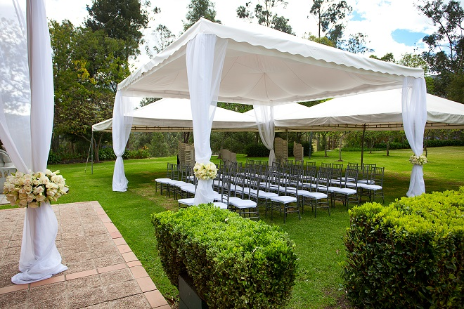 marquee venue backyard wedding ideas