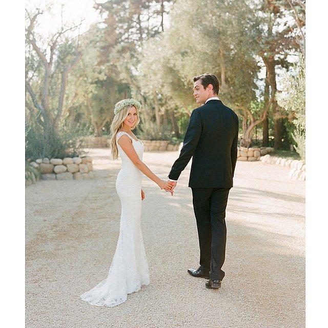celebrity wedding ashley tisdale