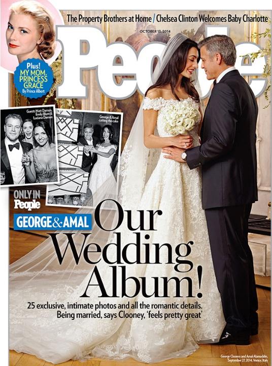 biggest celebrity weddings 2014 george clooney amal alamuddin