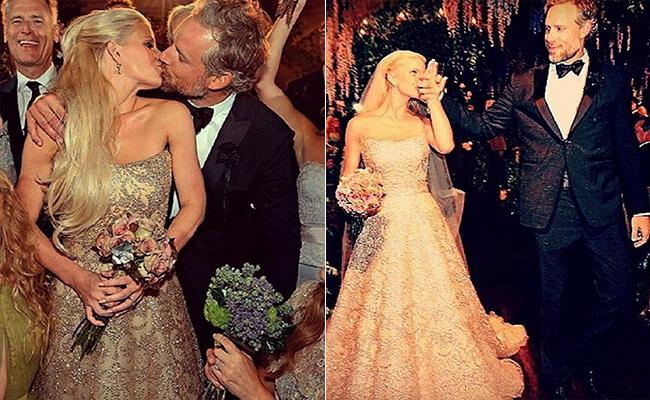 celebrity wedding jessica simpson wedding dress