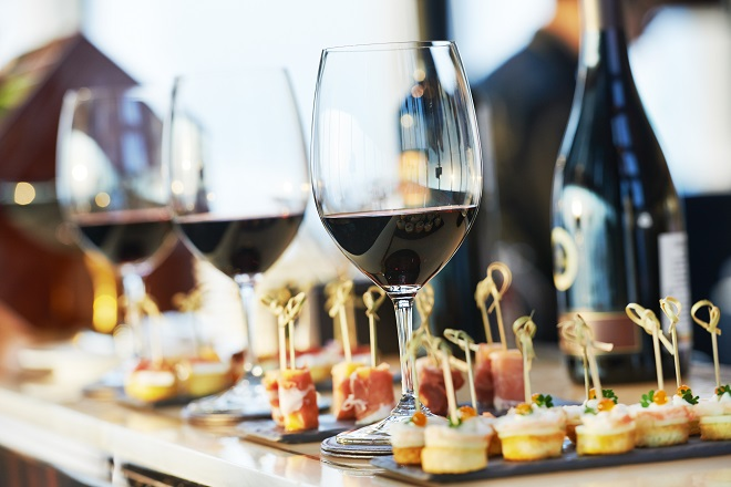 wedding catering service for reception