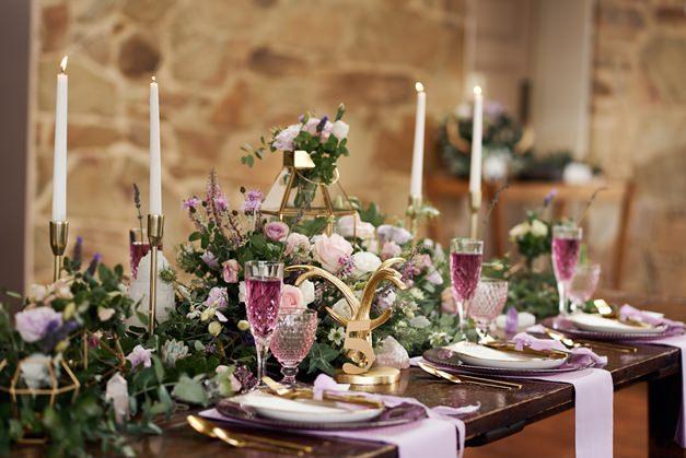 Bridal-table-setting