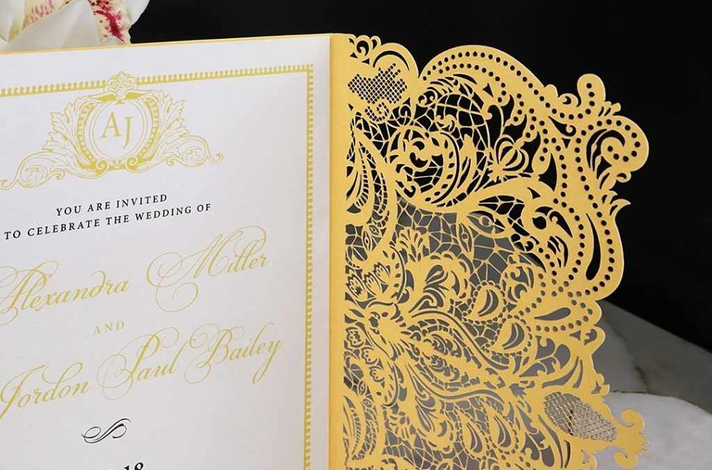 Royal Lace Invite