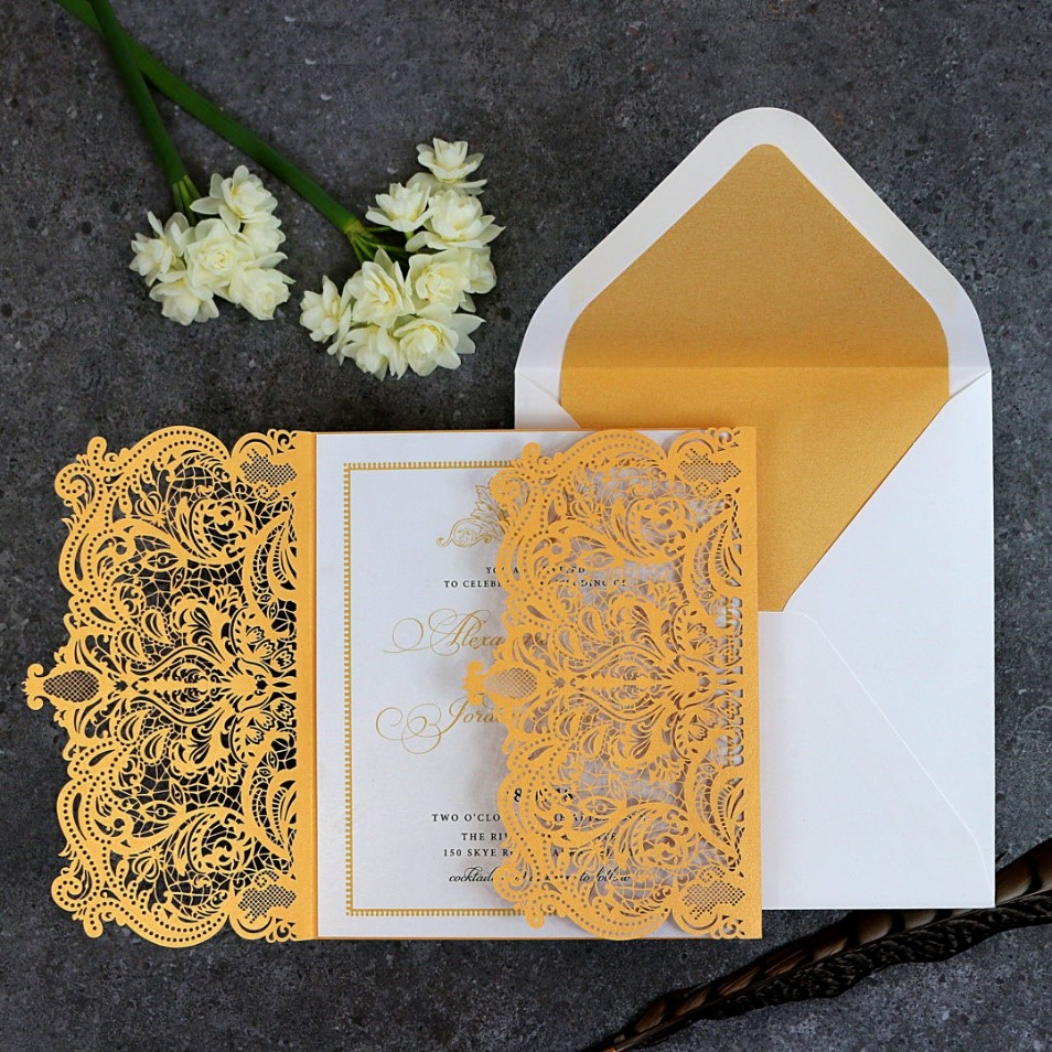 Royal Lace Invitation