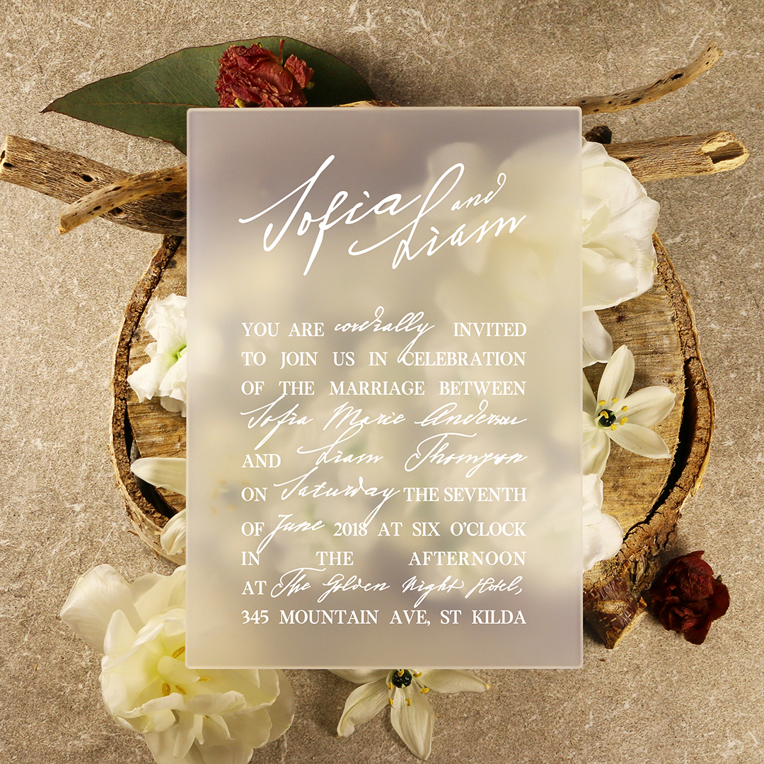 Wedding Invitation - Modern