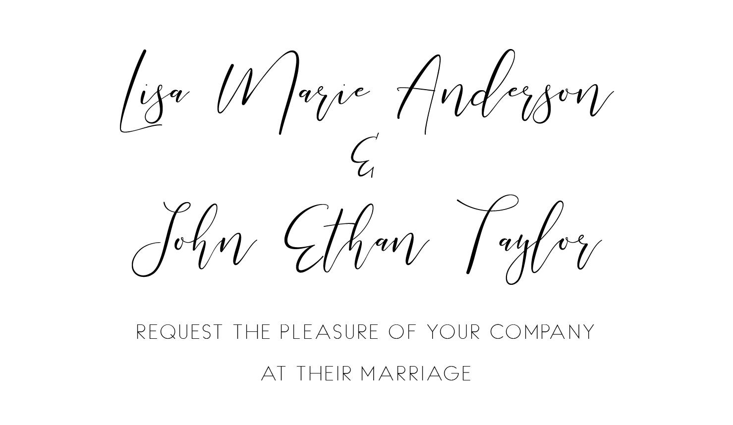Best Wedding Invitation Fonts – Find Your Best Match