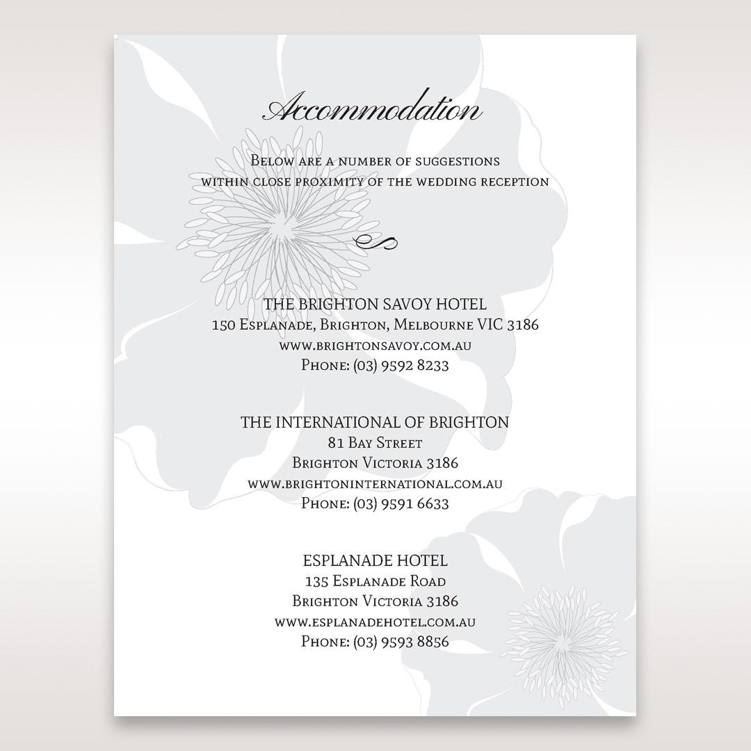 White True Love - Accommodation - Wedding Stationery - 21