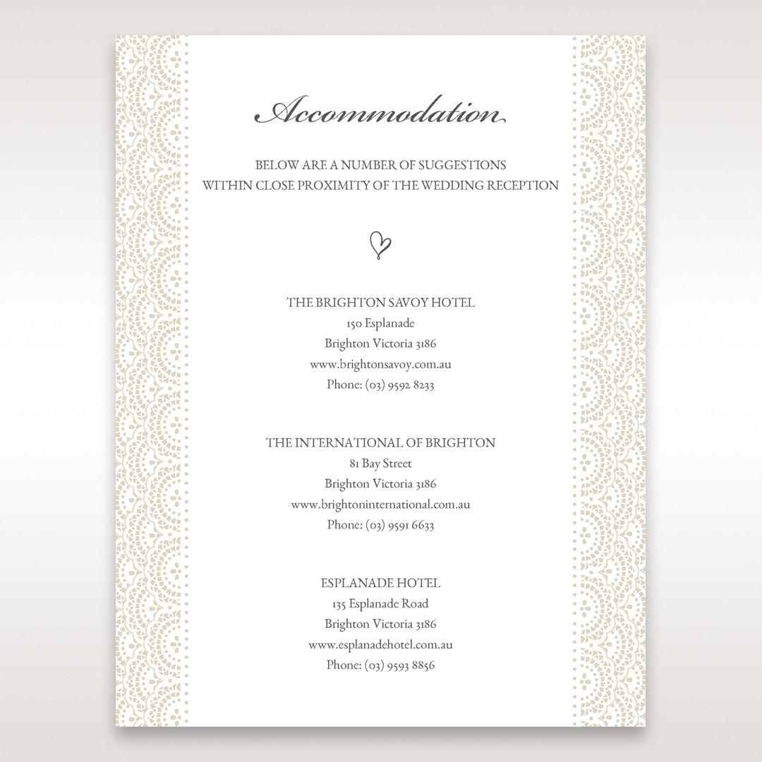 White Amabilis - Accommodation - Wedding Stationery - 57