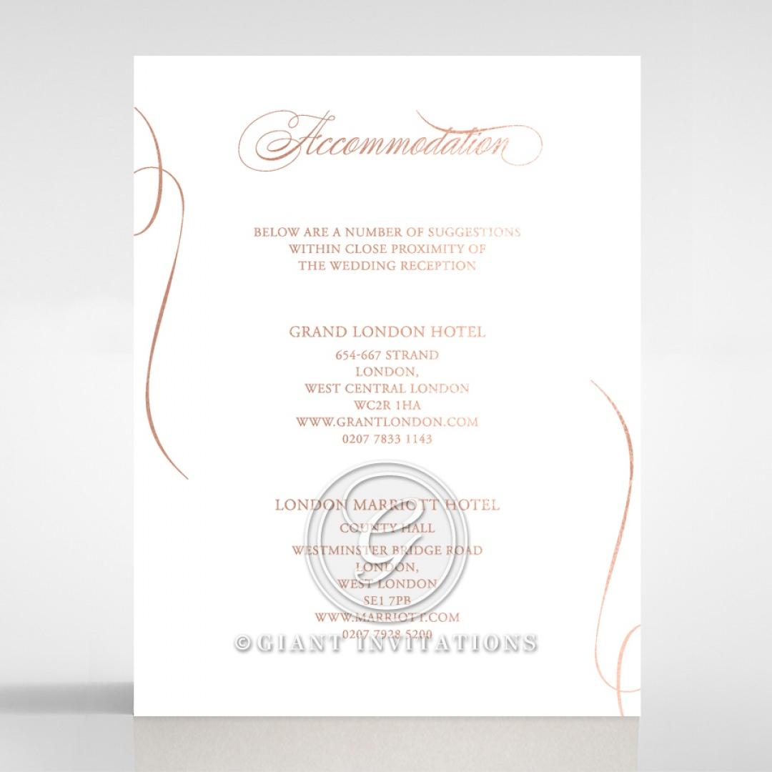 A Polished Affair accommodation card DA116088-GW-RG