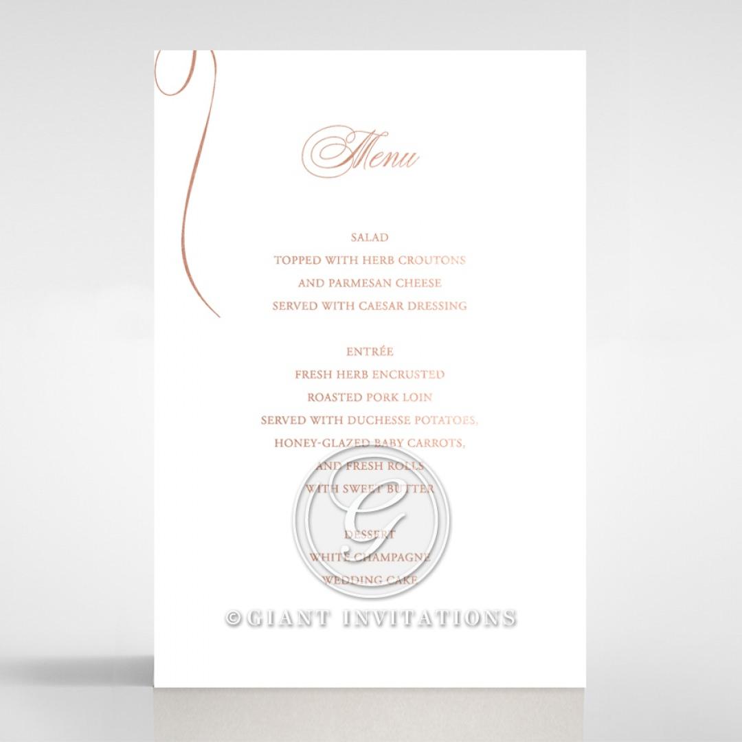 A Polished Affair menu card DM116088-GW-RG