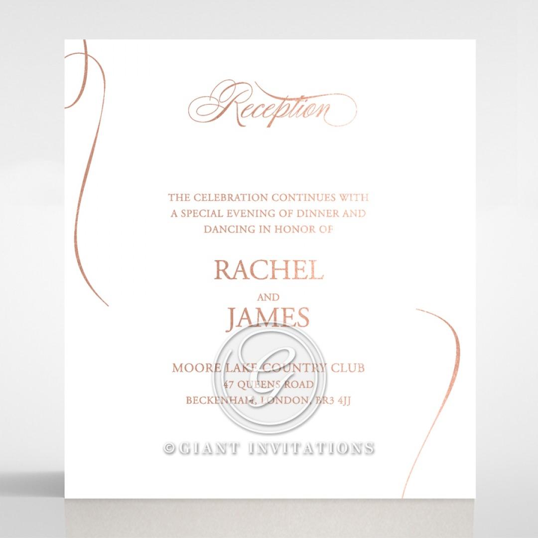 A Polished Affair reception card DC116088-GW-RG