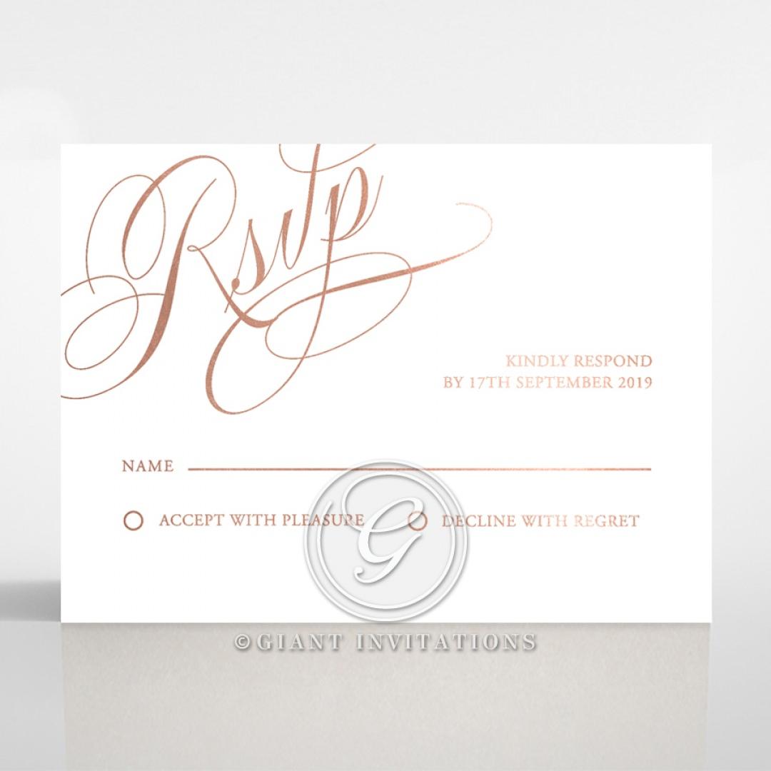 A Polished Affair rsvp card DV116088-GW-RG