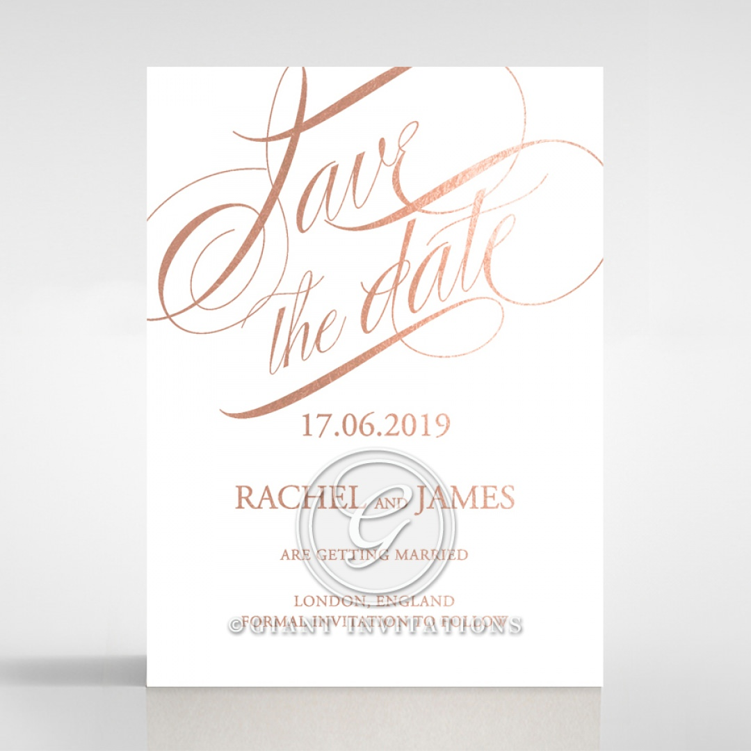 A Polished Affair save the date DS116088-GW-RG