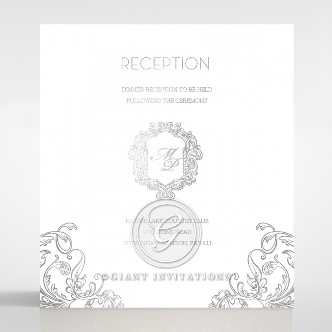 Aristocrat reception card DC116122-GW-GS