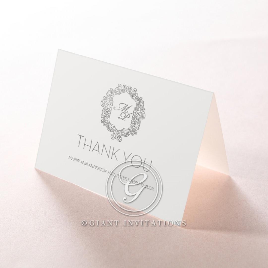 Aristocrat thank you card DY116122-GW-GS