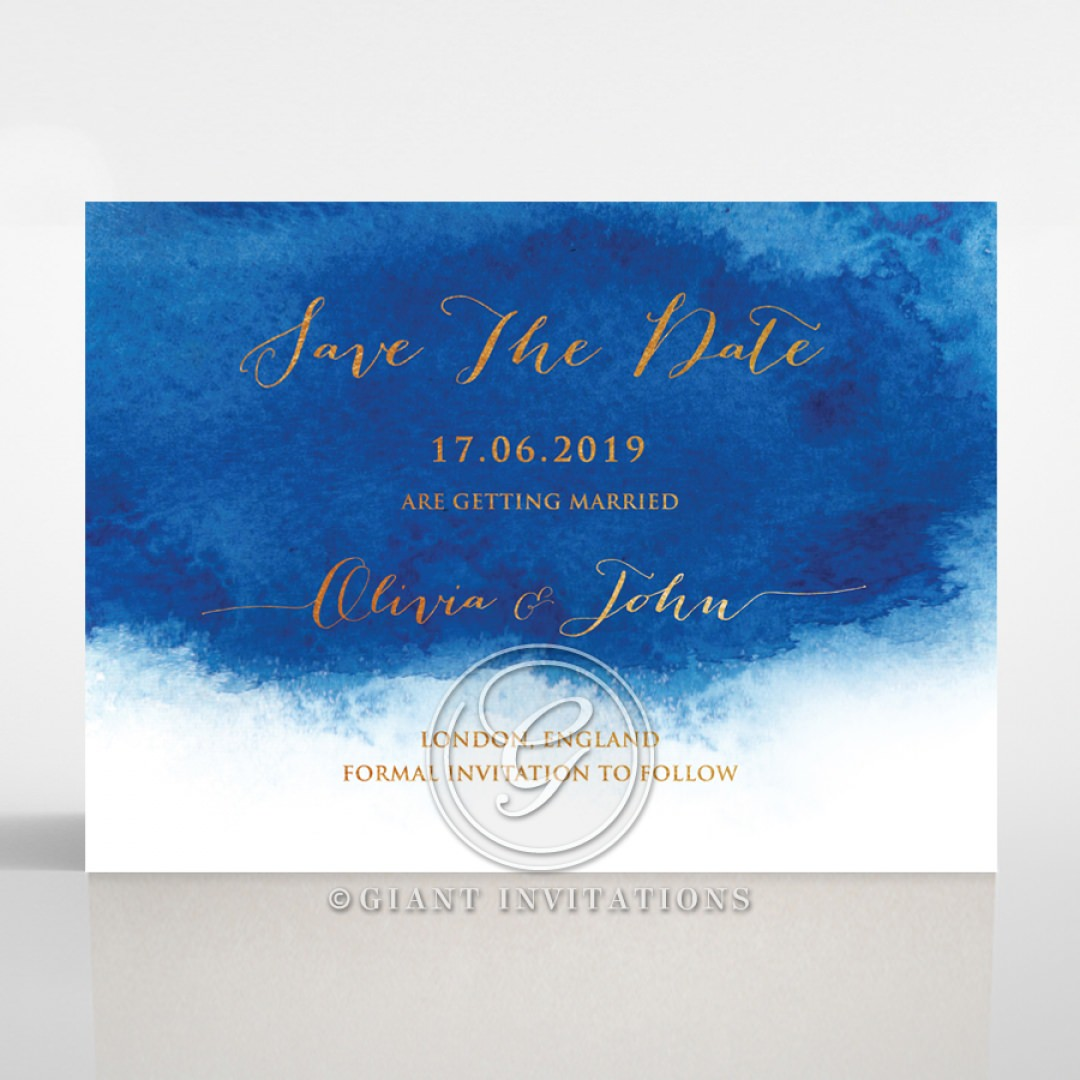At Twilight with Foil save the date DS116127-TR-MG