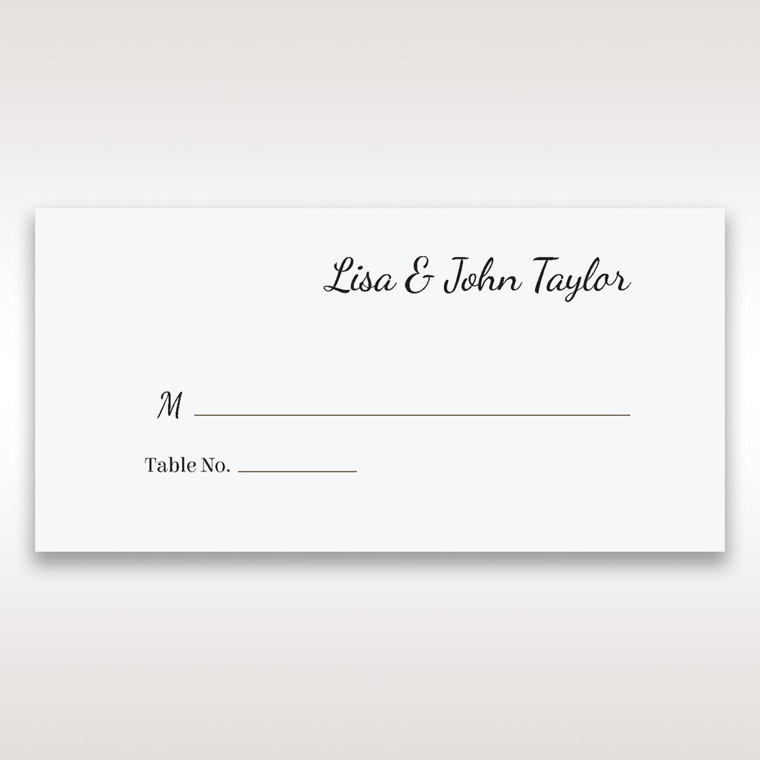 White Laser Gated Elegance Laser Cut Pocket - Place Cards - Wedding Stationery - 73