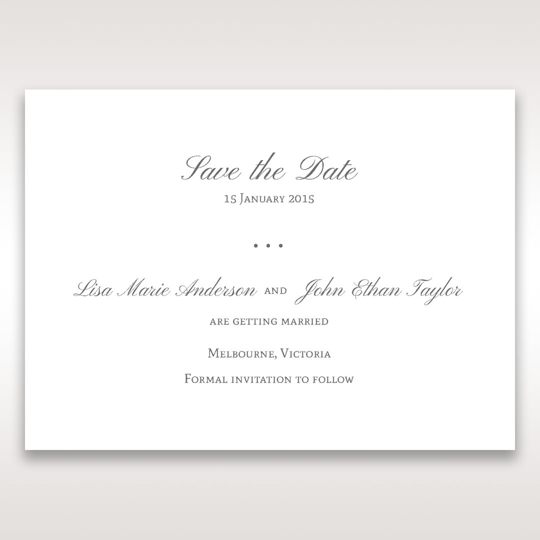Blue Handmade Jeweled Floral - Save the Date - Wedding Stationery - 30