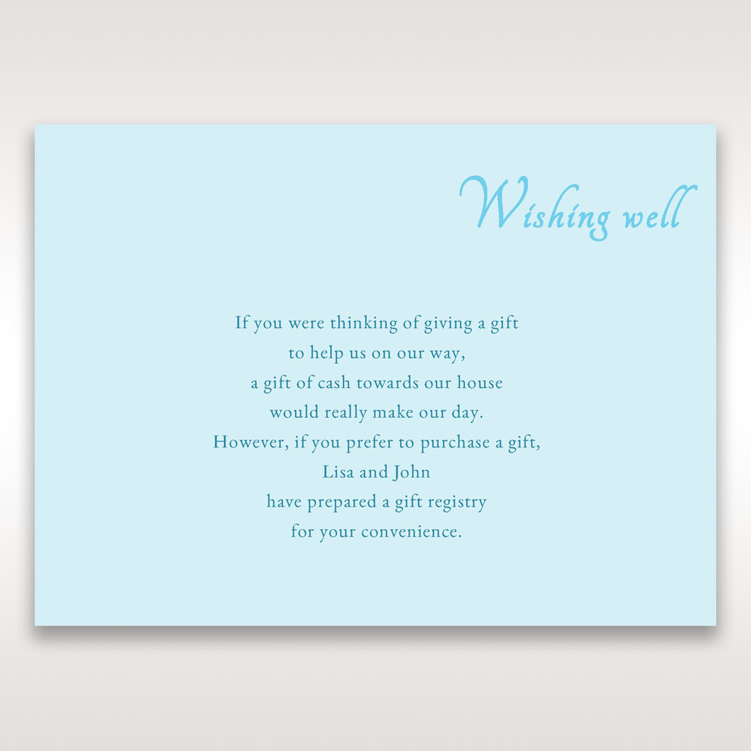 wording for bridal shower invitations wishing well