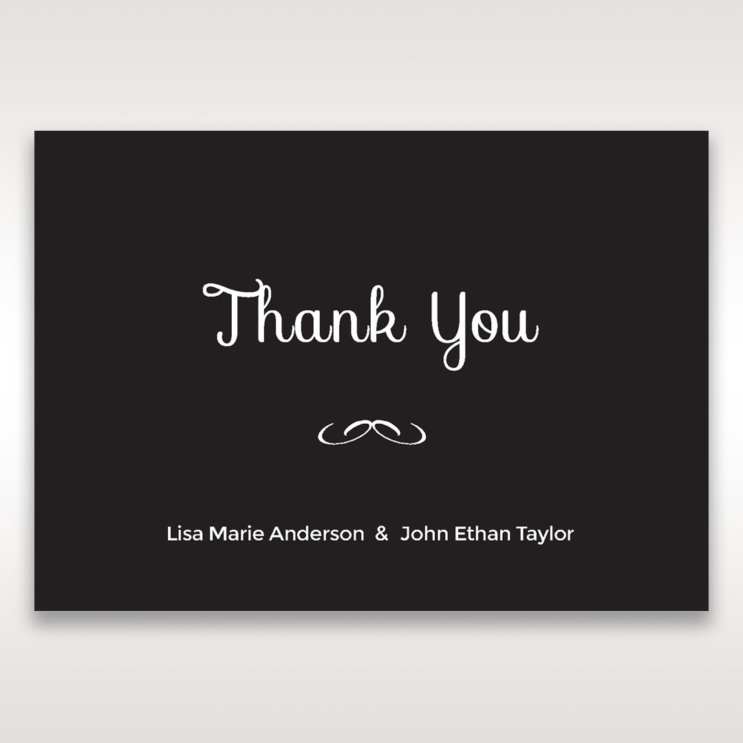 Black Laser Peacock Laser Cut Pocket With Foil - Thank You Cards - Wedding Stationery - 45