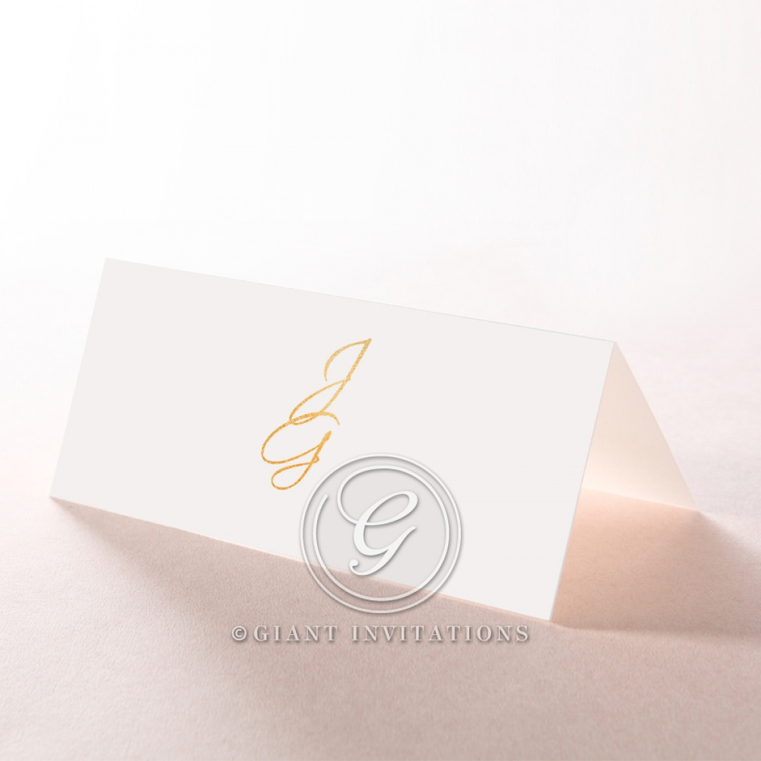 Diamond Drapery place card DP116106-GW-GG
