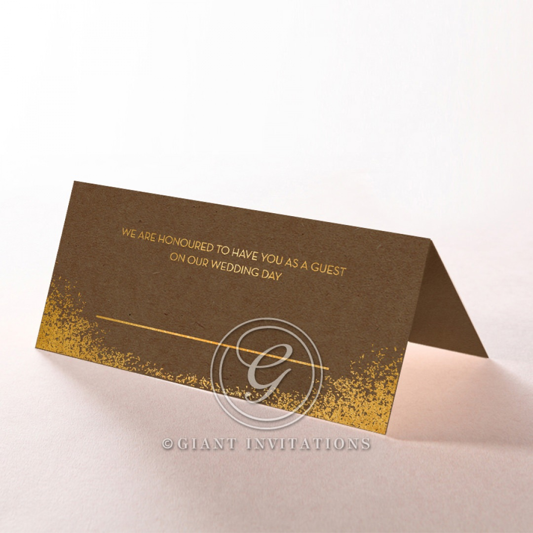 Dusted Glamour place card DP116098-NC-GG