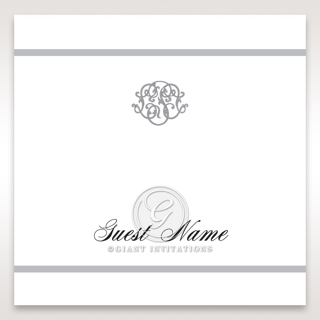 Elegant Seal place card DP14503