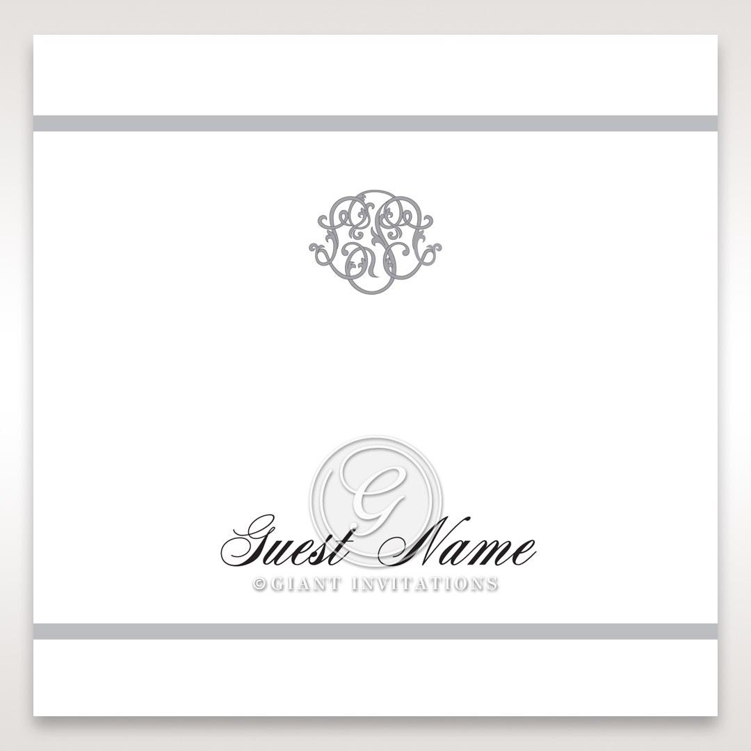 Elegant Seal place card DP14503