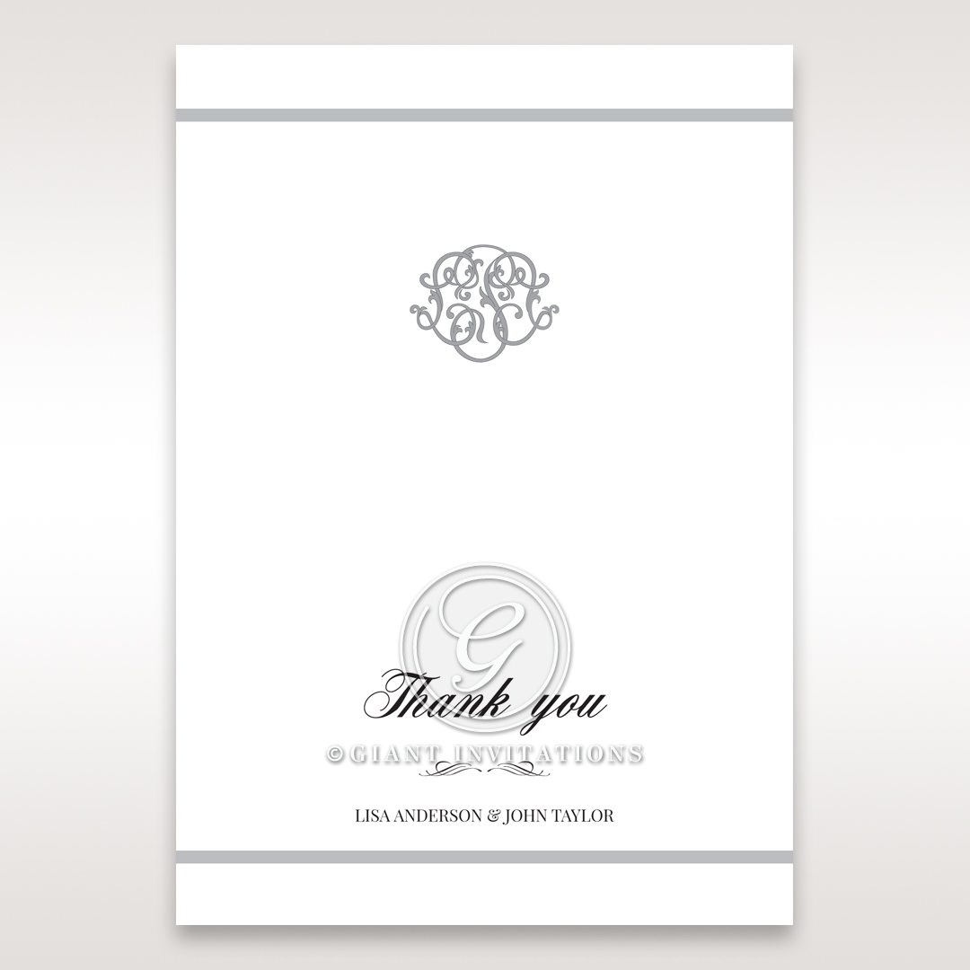 Elegant Seal thank you card DY14503
